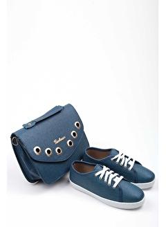 Gob London Kadın Spor Ayakkabı Çanta Kombin 1015-105-0004